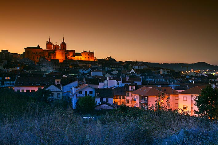 Viseu at Dusk
