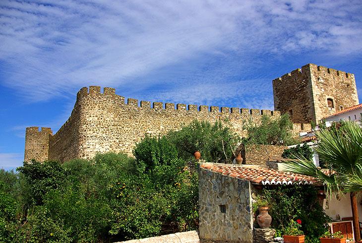 Le château Terena, Alandroal, Évora