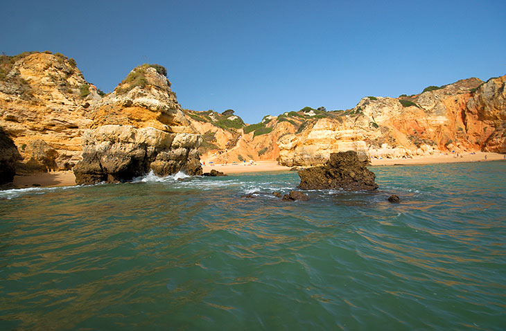 Stranden in de Algarve